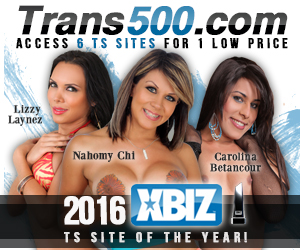 Six shemale websites for the price of one at trans500.com